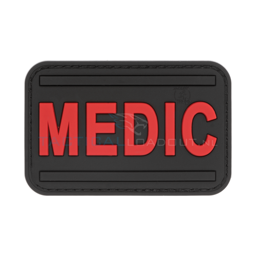 Jackets to Go Medic PVC Patch Black Medic