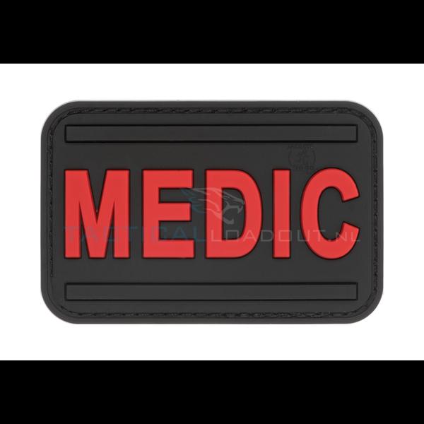 Jackets to Go Medic PVC Patch Black Medic