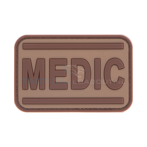 Jackets to Go Medic PVC Patch Desert
