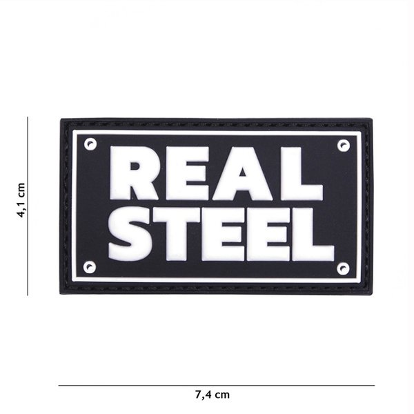 Real Steel PVC Patch