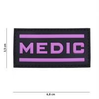 Medic PVC Patch Pink