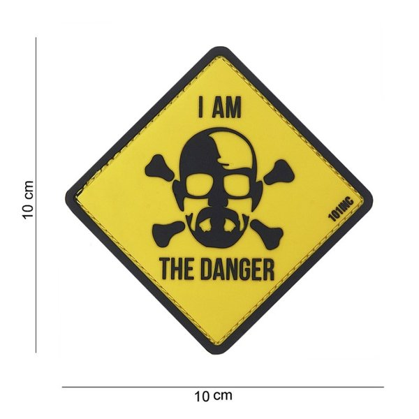 I Am the Danger PVC Patch Yellow