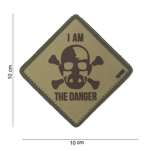 I Am the Danger PVC Patch Coyote