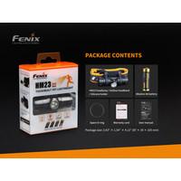 Fenix HM23 Hoofdlamp (240 lumen) incl Batterij