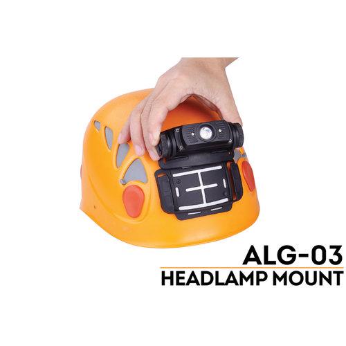 Fenix ALG-03 Helm mount voor hoofdlamp