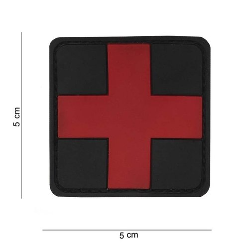 Red Cross Medic PVC Patch