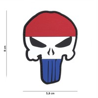 Dutch Punisher PVC Patch