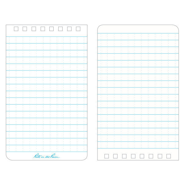 "Rite in the Rain Top-Spiraal Notebook 3x5"" Yellow"