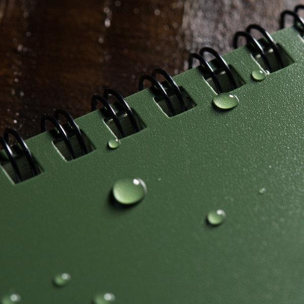 "Rite in the Rain Top-Spiraal Notebook 3x5"" Green"
