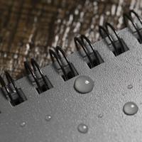 "Rite in the Rain Top-Spiraal Notebook 4x6"" Black"