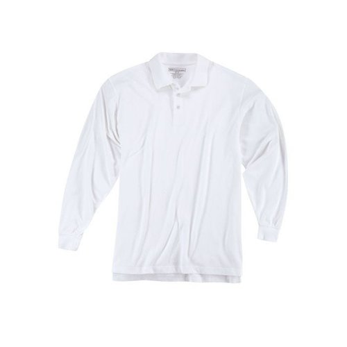5.11 Tactical Professional Polo Long Sleeve White