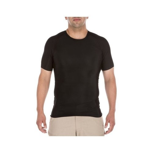 5.11 Tactical Tight Crew Short Sleeve Shirt Black