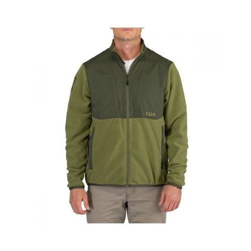 5.11 Tactical Apollo Tech Fleece Jacket Fatigue