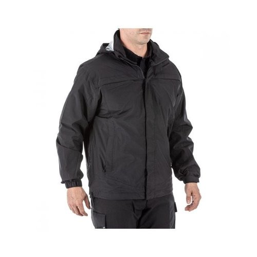 5.11 Tactical Tac Dry Rain Shell Jacket Black