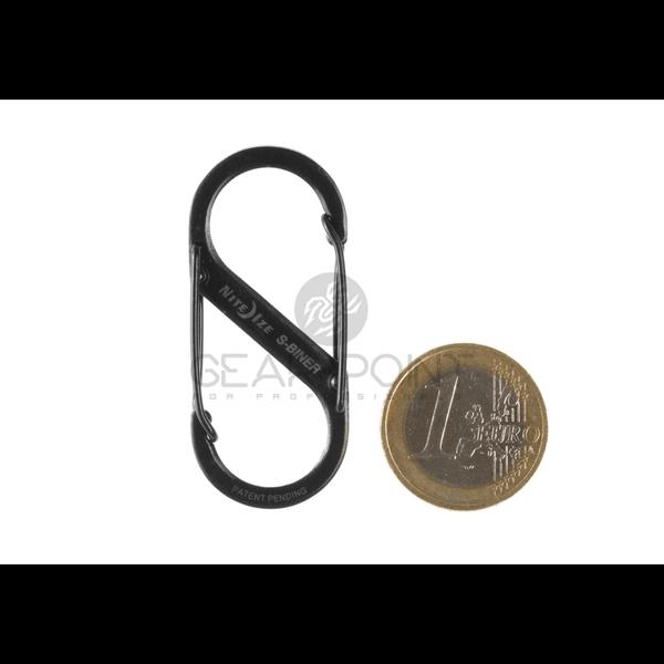 Nite Ize S-Biner Steel #2 - Black