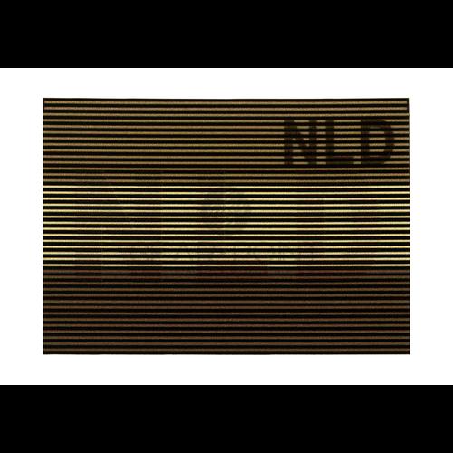 Claw Gear Dual IR Nederlandse NLD Vlag Patch Desert