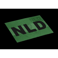 Clawgear Dual IR Nederlandse NLD Vlag Patch Olive