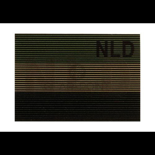 Claw Gear Dual IR Nederlandse NLD Vlag Patch Olive