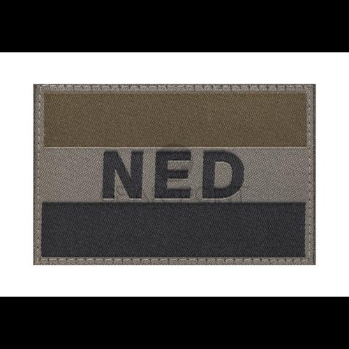 Claw Gear Nederlandse NLD Vlag Patch Olive
