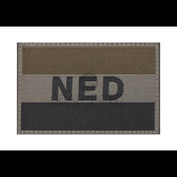 Clawgear Nederlandse NLD Vlag Patch Olive