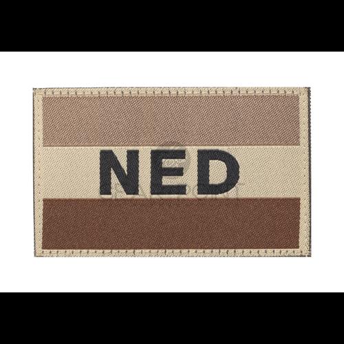 Clawgear Nederlandse NLD Vlag Patch Desert