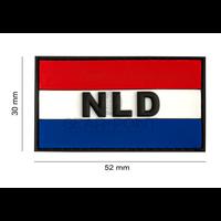 Jackets to Go Nederlandse NLD Vlag PVC Patch
