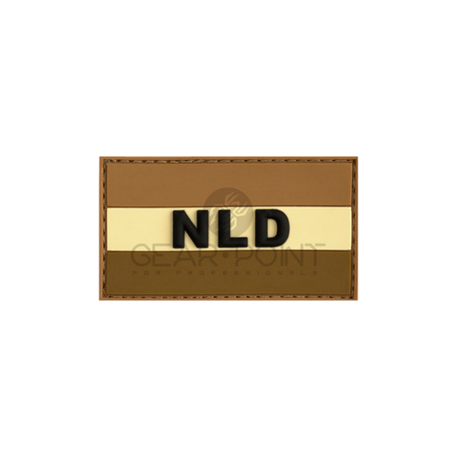 Jackets to Go Nederlandse NLD Vlag PVC Patch Desert