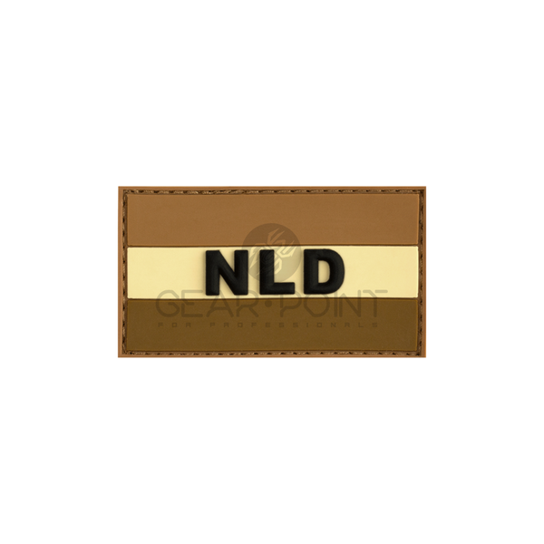 Jackets to Go Nederlandse NLD Vlag PVC Patch Desert