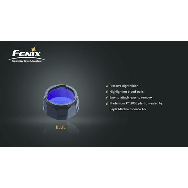 Fenix AOF-L Kleurenfilter 40mm Blauw (Large)