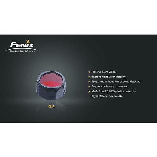 Fenix Kleurenfilter 40mm Rood (Large)