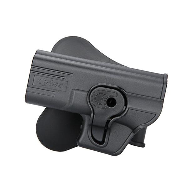 Cytac Paddle Holster Glock 19 LEFT Black