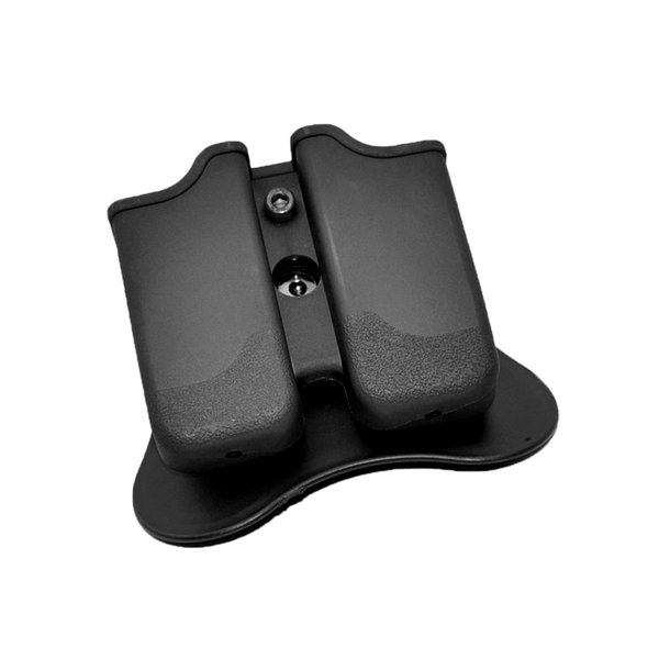 Cytac Double Polymer P226 Mag Pouch GMP Black