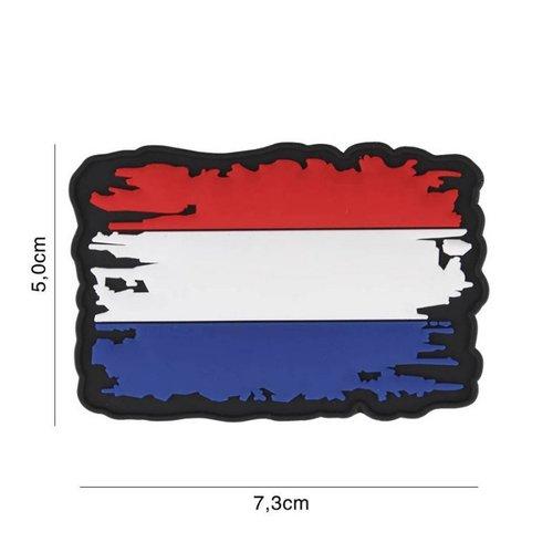 Nederlandse (NLD) Vintage Vlag PVC Patch