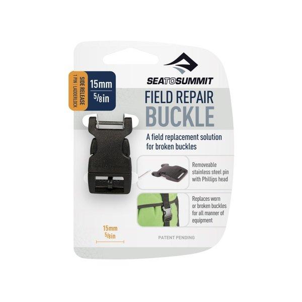 Sea to Summit Field Repair Buckle 15mm Metal Pin Black