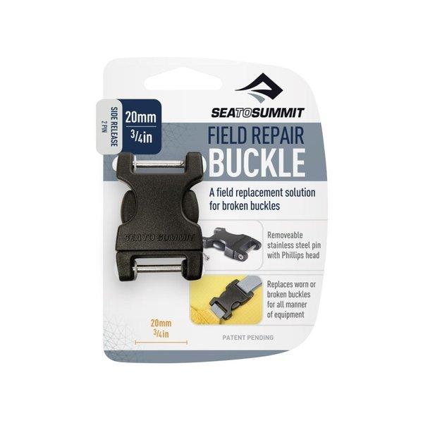Sea to Summit Field Repair Buckle 20mm Metal Double Pin Black