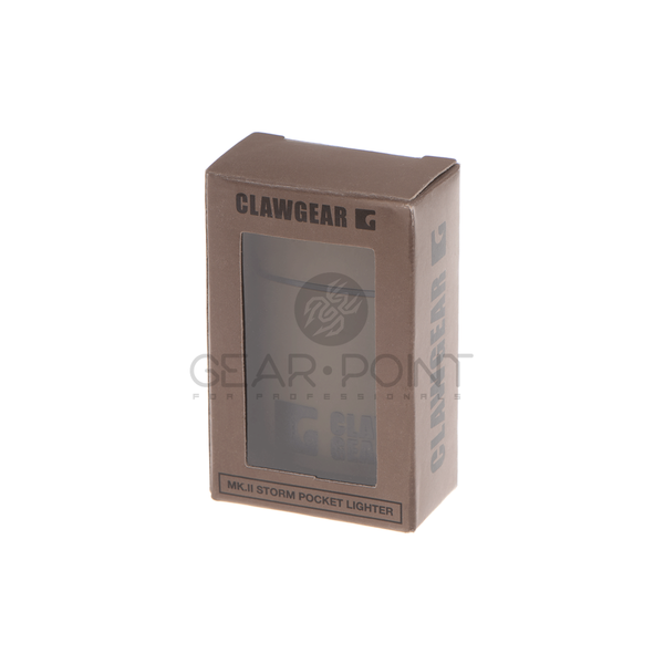 Clawgear Storm Pocket Lighter MKII / Aansteker RAL7013