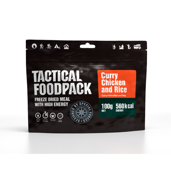 Tactical Foodpack Curry Chicken and Rice