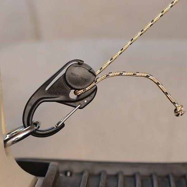 Nite Ize CamJam Cord Tightener Black  (2-5mm cord)