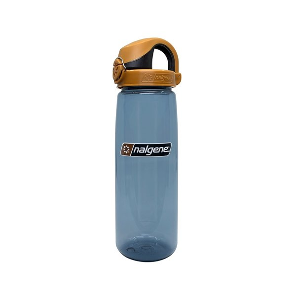 Nalgene On The Fly Bottle Drinkfles 750ml Rhino Brown Cap
