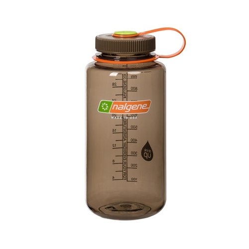 Nalgene Wide Mouth Top Bottle Drinkfles 1 Liter Woodsman