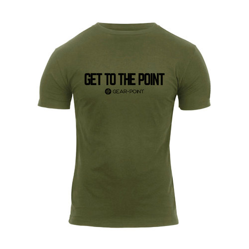 "Gear Point ""Get to the Point"" T-Shirt Olive"