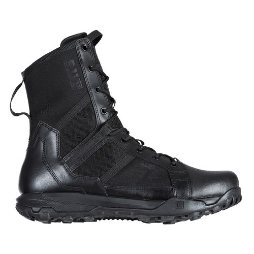 "5.11 Tactical A/T 8""Side Zip Boots Black"