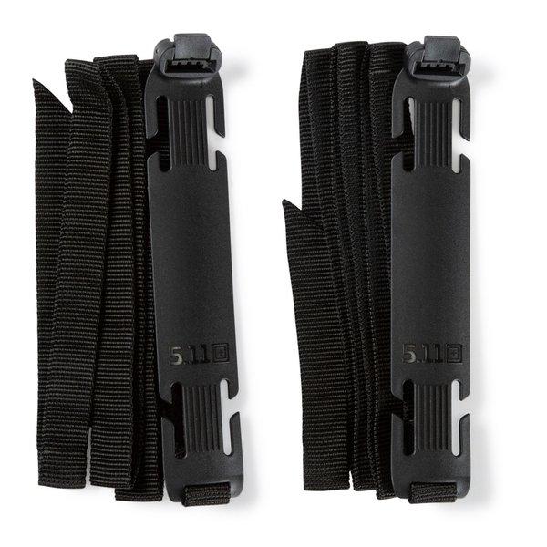 5.11 Tactical Sidewinder Straps LG 2-Pack Black