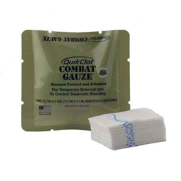 QuikClot Combat Gauze Z-Fold (7,62 x 365,76 cm)