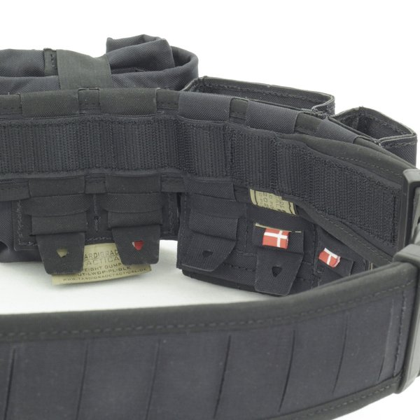 Tardigrade Tactical Quantum Duty Gunfighter Belt / Poly Buckle Black