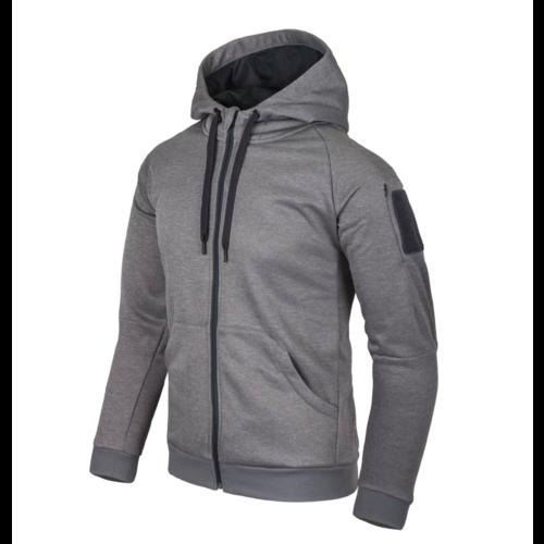 Helikon-Tex Urban Tactical Hoodie  Full Zip Grey Melange