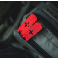 VentumGear TACPULL Zipper Puller Medic Cross Red