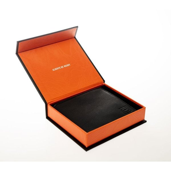 5.11 Tactical MERU Bifold Wallet Black Leather