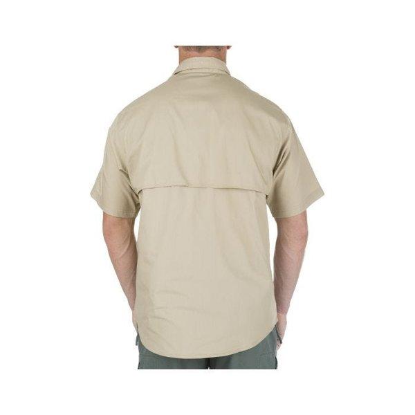 5.11 Tactical TacLite Pro Shirt SS TDU Khaki (met velcro + epauletten houders)