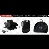 Engarde FLEX-PRO IIIA Ballistic panels + DELUXE Carrier Black